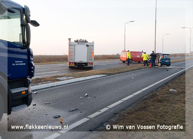 Foto behorende bij Dodelijk ongeval op de N57