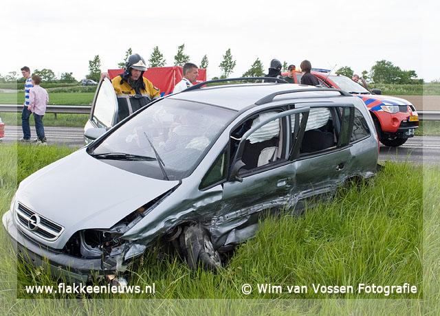 Foto behorende bij Ongeval met beknelling nabij Goedereede