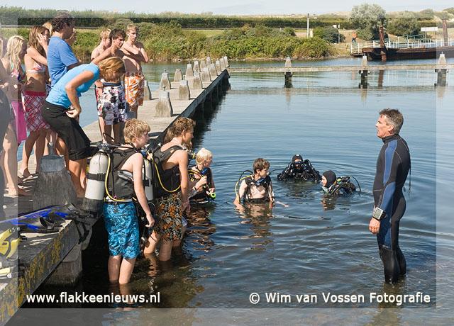 Foto behorende bij Duikles voor VWO-4 leerlingen