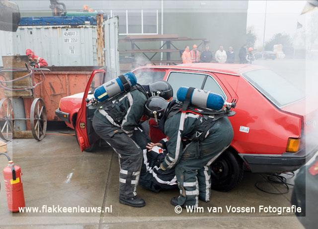 Foto behorende bij Herkingen eerste bij brandweerwedstrijd