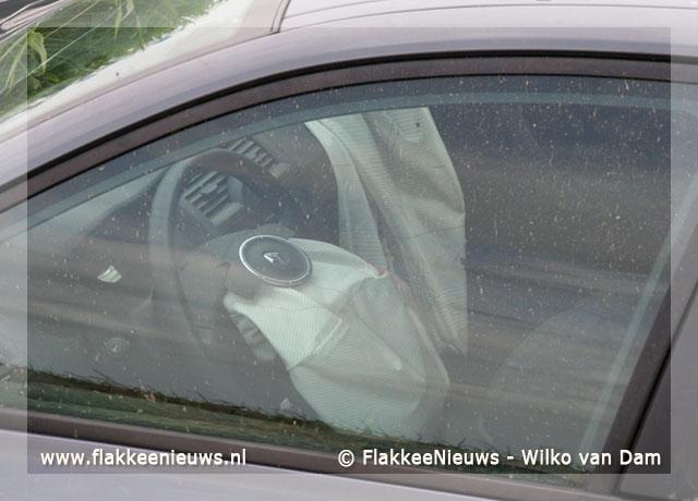 Foto behorende bij Auto in de sloot door hoestbui