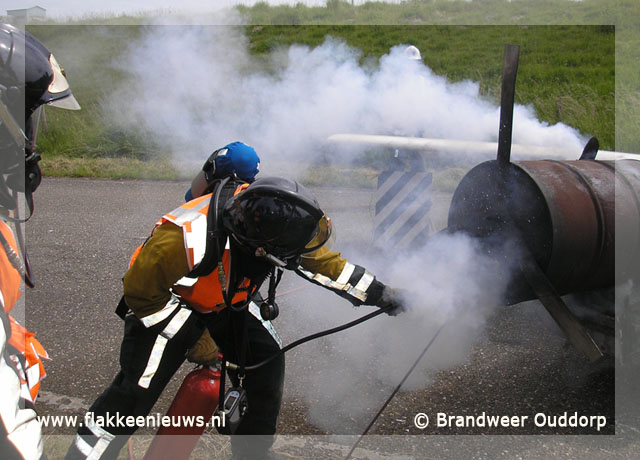 Foto behorende bij Brandweer Ouddorp behaalt eerste prijs
