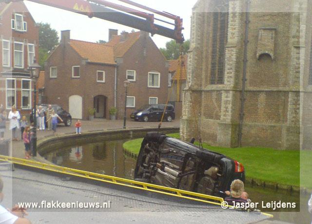 Foto behorende bij Auto in de kerkgracht