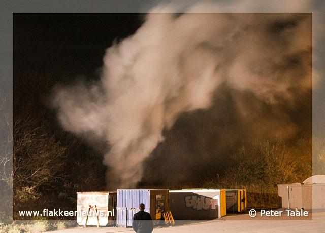 Foto behorende bij Opnieuw brand op vuilstort