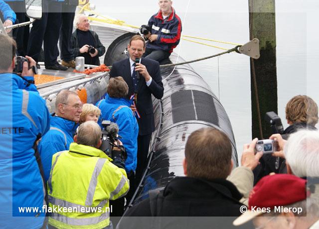 Foto behorende bij Doop nieuwe KNRM reddingboot