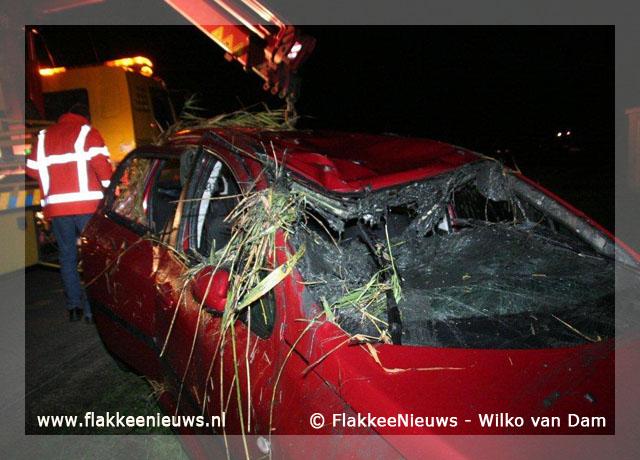 Foto behorende bij Eenzijdig ongeval bij Oude-Tonge