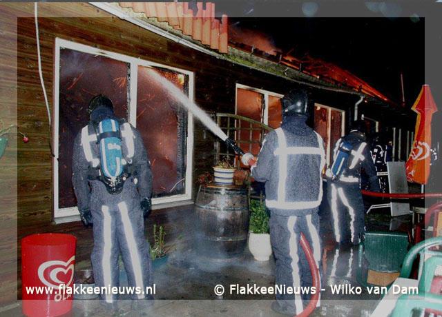 Foto behorende bij Middelbrand in Ooltgensplaat