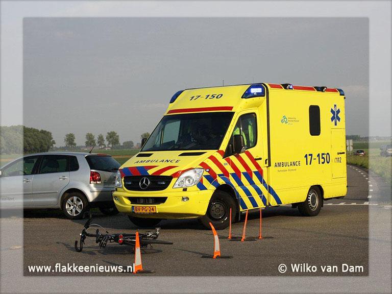 Foto behorende bij Fietser aangereden in Nieuwe-Tonge