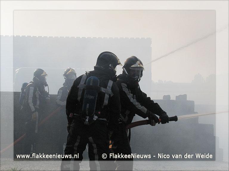 Foto behorende bij Middelbrand in Stad aan
