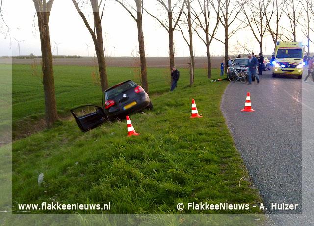 Foto behorende bij Eenzijdig ongeval Ooltgensplaat