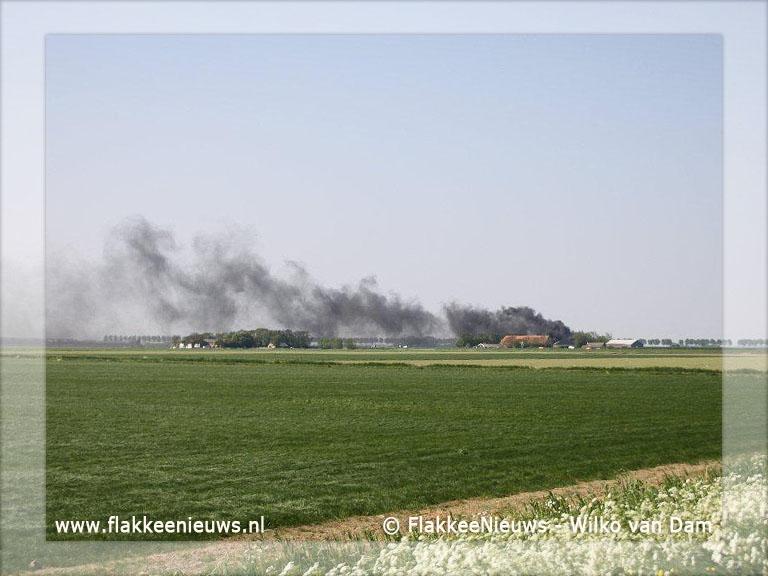 Foto behorende bij Brand bij boerderij in Melissant