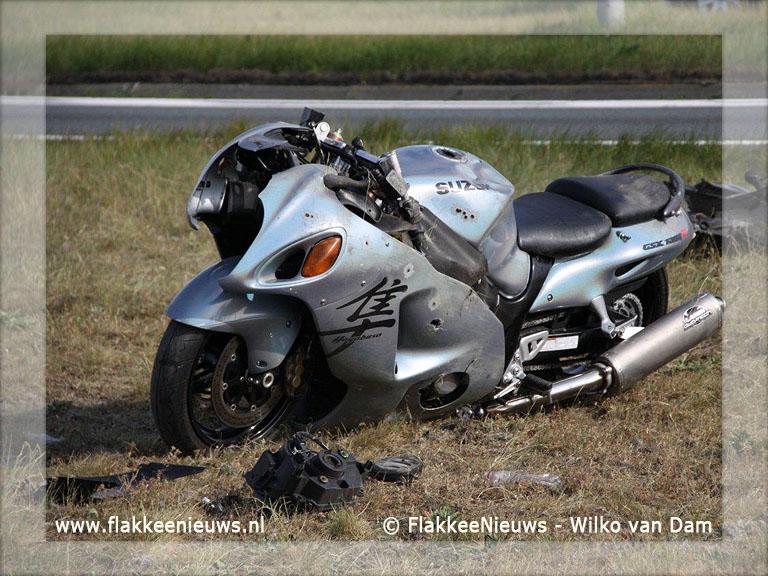 Foto behorende bij Dodelijk ongeval N59 met motorrijder