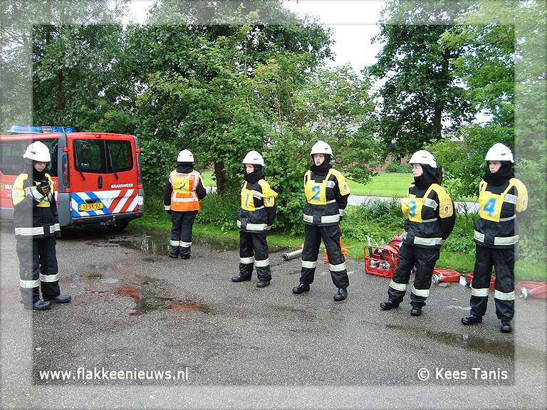 Foto behorende bij Dubbelslag voor Ouddorpse Brandweer