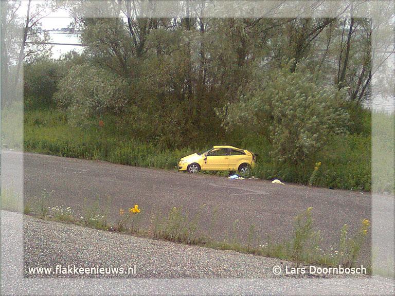 Foto behorende bij Eenzijdig ongeval op de N59
