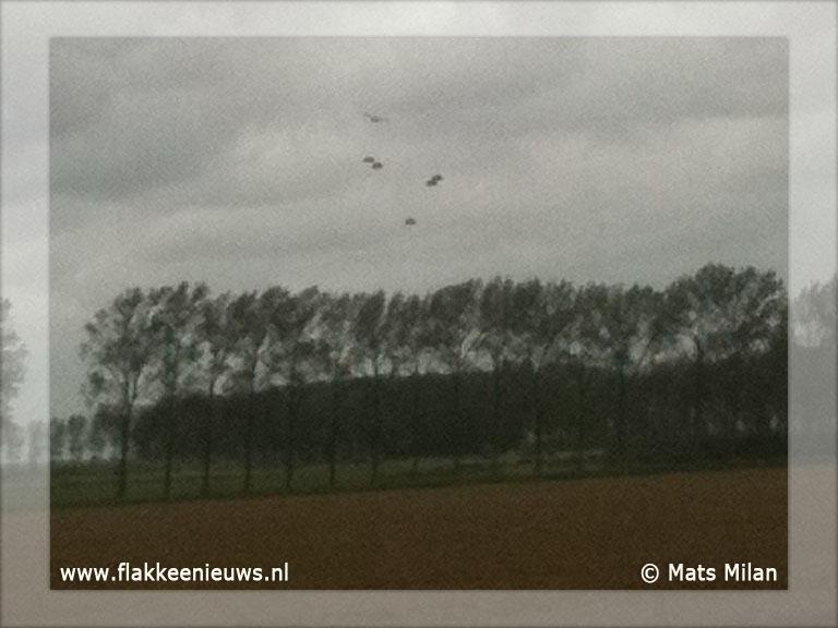 Foto behorende bij Laagvliegende vliegtuigen gespot boven Flakkee