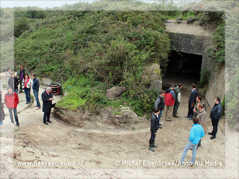 Foto behorende bij Aanleg bunkerroute gestart