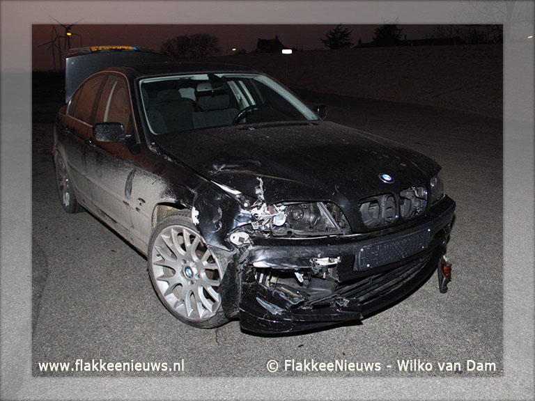 Foto behorende bij Motorrijder breekt been bij ongeval