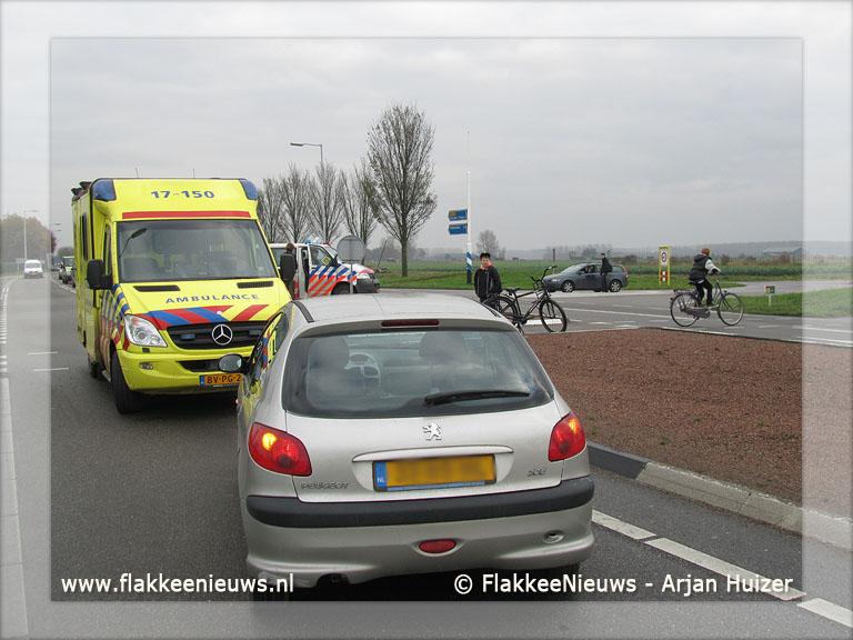 Foto behorende bij Bestuurster gewond bij ongeval