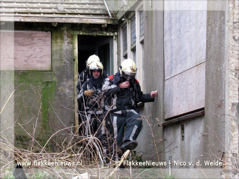 Foto behorende bij Brandweer rukt uit voor gaslucht