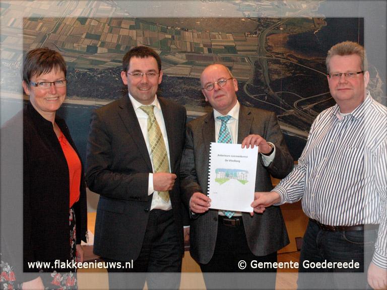 Foto behorende bij Anterieure overeenkomst de Vliedberg ondertekend