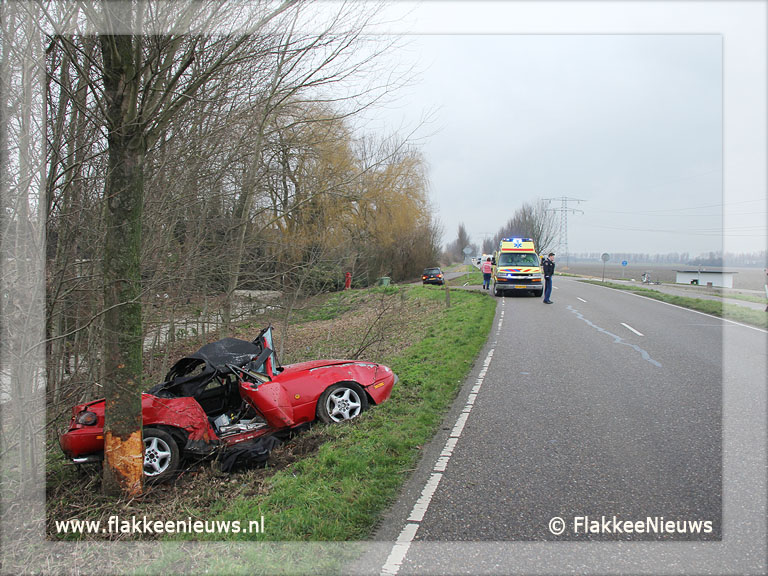 Foto behorende bij Eenzijdig ongeval Oudelandsedijk Middelharnis