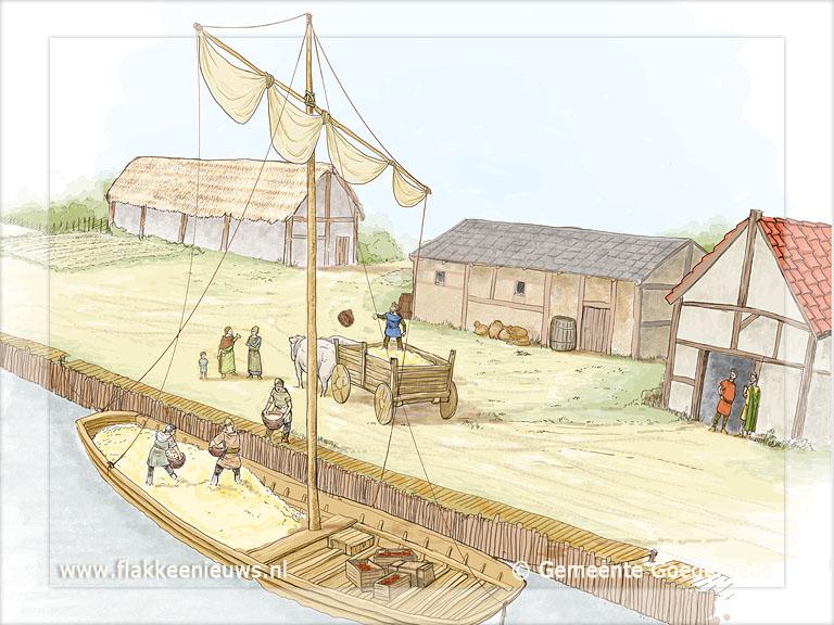Citaten Romeinse Tijd : Goedereede was bloeiende haven in romeinse tijd