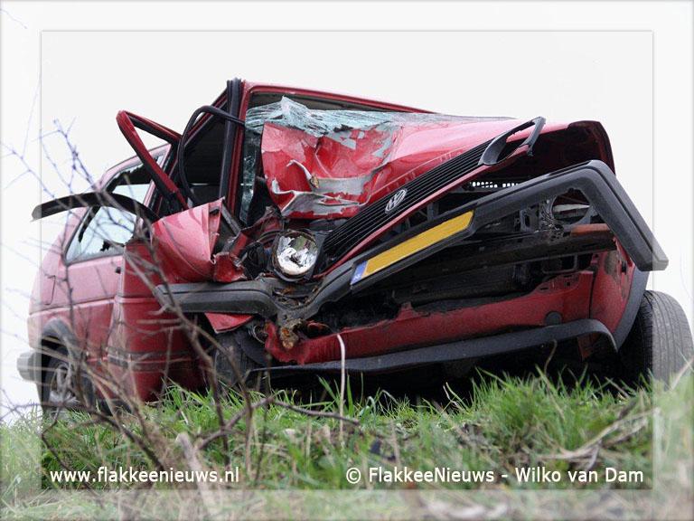 Foto behorende bij Eenzijdig ongeval in polder Nieuwe-Tonge