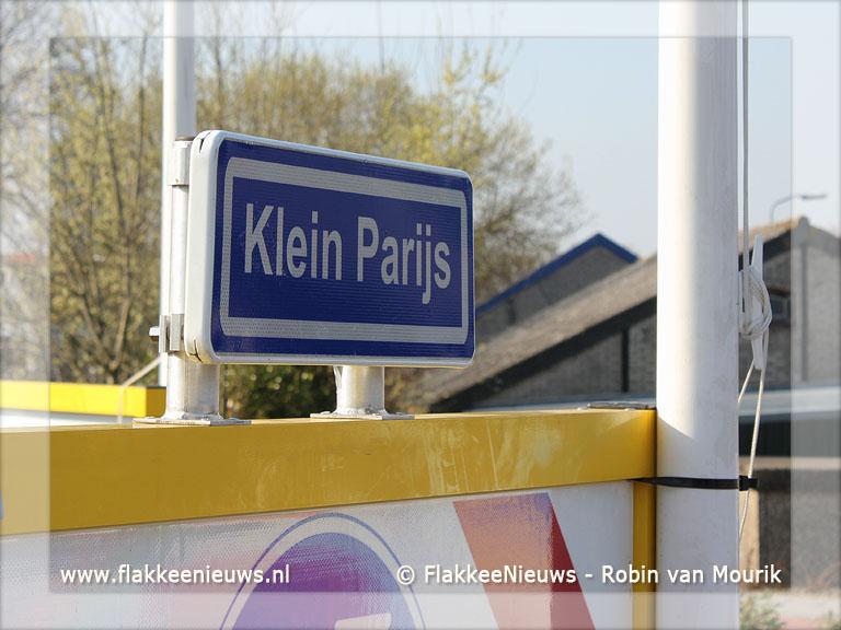Foto behorende bij Rotonde Klein Parijs officieel geopend