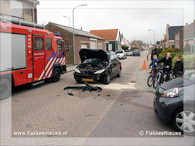 Foto behorende bij Ongeval in het dorp