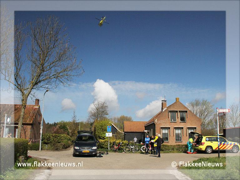 Foto behorende bij Aanrijding met auto en wielrenners