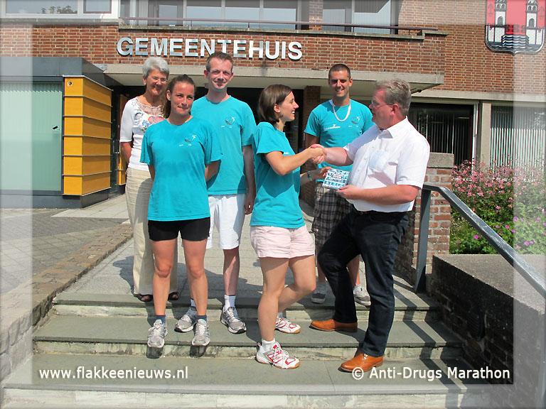 Foto behorende bij Anti-Drugs Marathon op Goeree-Overflakkee