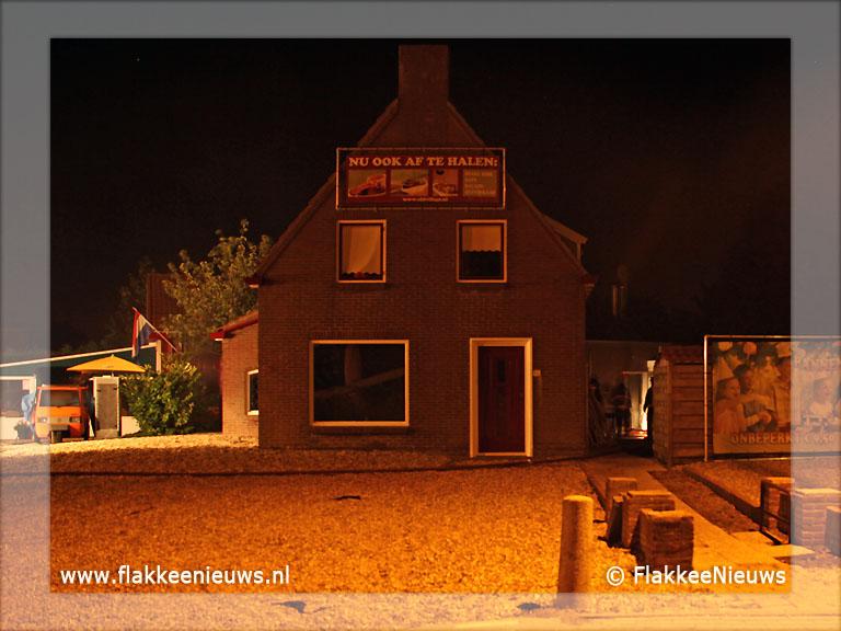 Foto behorende bij Brand in restaurant Ouddorp (update)