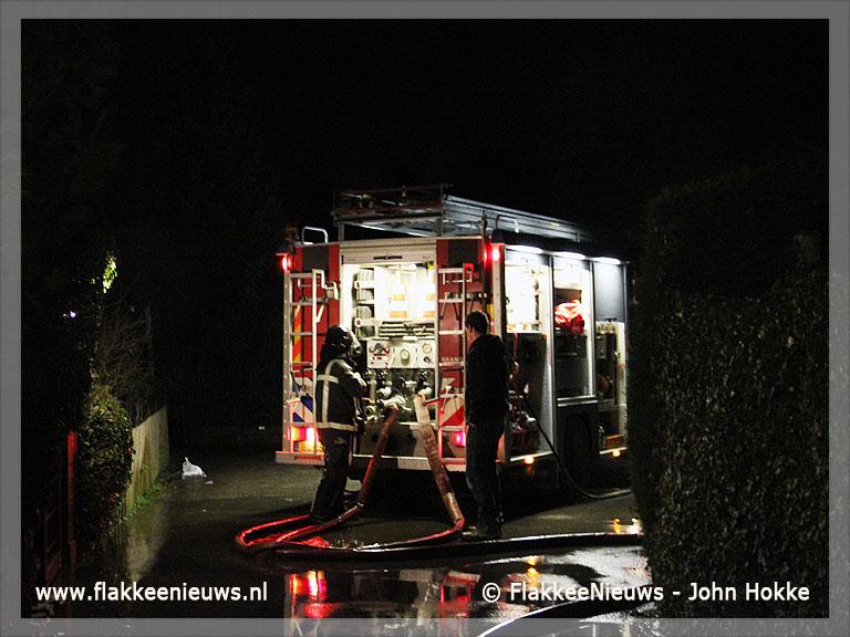 Foto behorende bij Woning onbewoonbaar door schoorsteenbrand