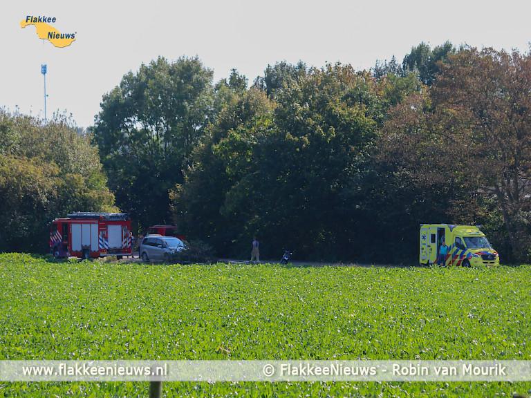Foto behorende bij Sportvliegtuigje maakt noodlanding bij Den Bommel