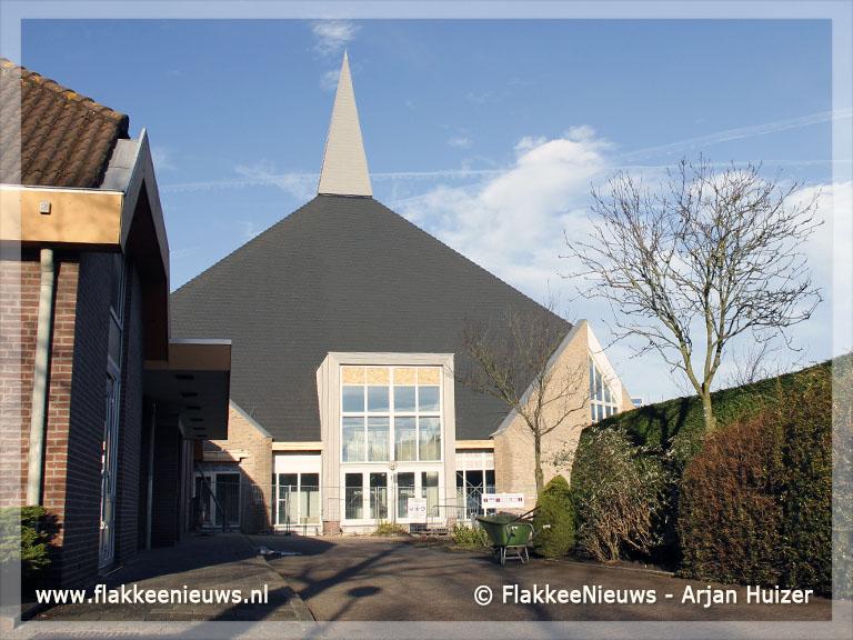 Foto behorende bij Bouw Eben-Haëzerkerk in Ouddorp ligt op koers