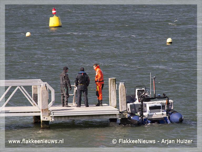 Foto behorende bij Defensie Duikgroep zoekt vermiste sportduiker