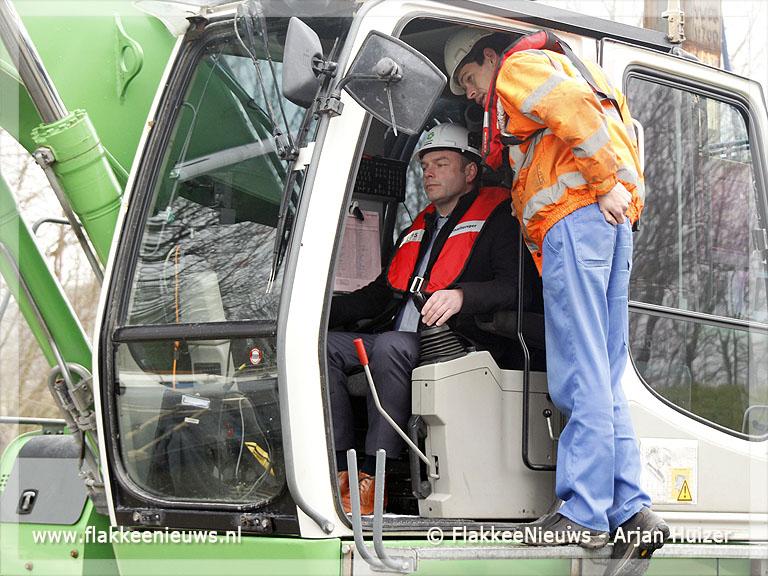 Foto behorende bij Uitdiepen havenkanaal is start van vernieuwing
