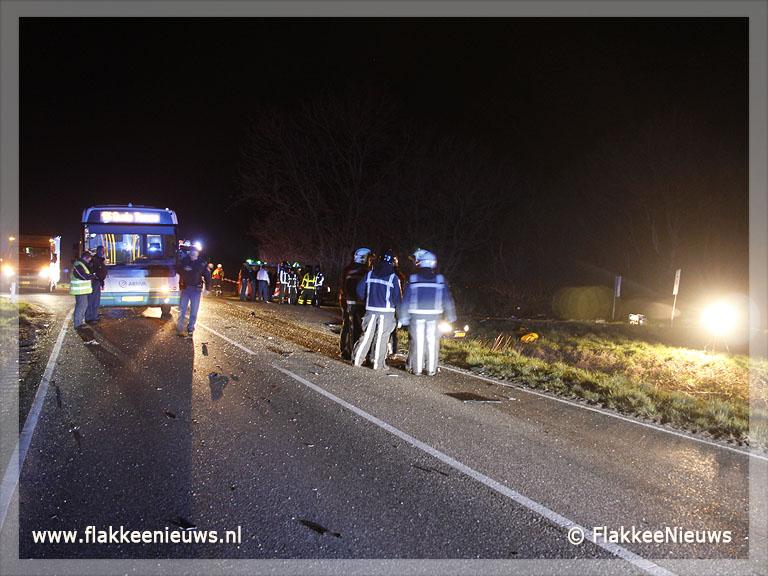 Foto behorende bij Twee doden bij ongeval Plaatweg Stellendam