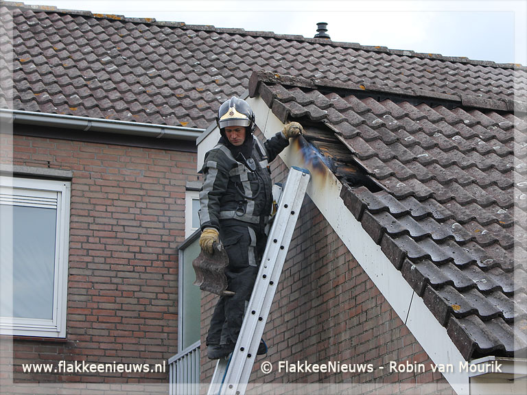 Foto behorende bij Pyromaan actief rondom Langeweg Middelharnis