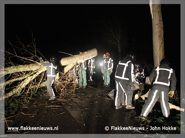 Foto behorende bij 5 December storm op Goeree-Overflakkee