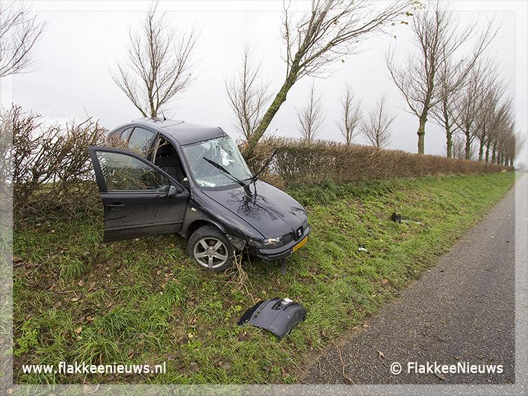 Foto behorende bij Eenzijdig ongeval Zuiddijk Herkingen