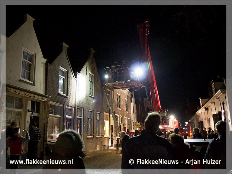 Foto behorende bij Brandweer rukt uit voor schoorsteenbrand