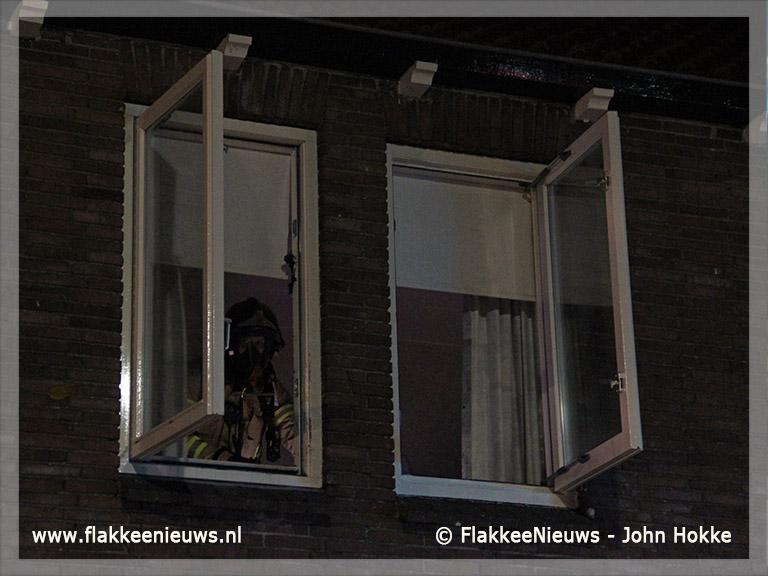 Foto behorende bij Elektrische deken in brand