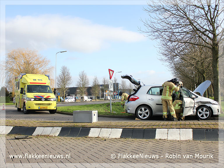 Foto behorende bij Ongeval op Stationsweg Oude-Tonge