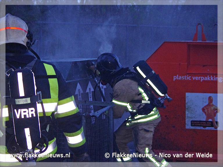 Foto behorende bij Brandstichting bij Hernesseroord