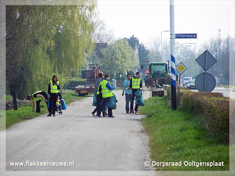 Foto behorende bij Ooltgensplaat is opgeschoond