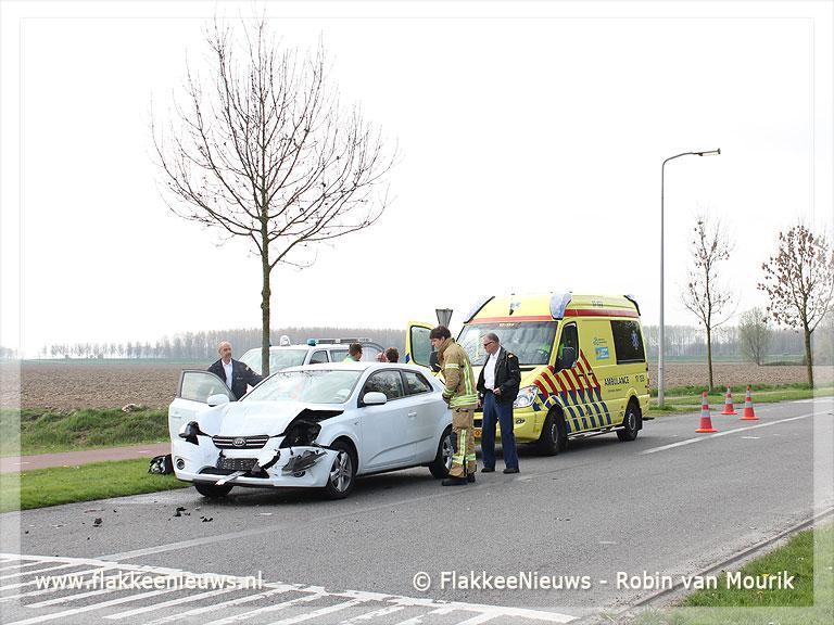 Foto behorende bij Ongeval Industrieweg Middelharnis