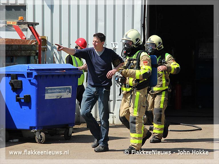 Foto behorende bij Gewestelijke brandweerwedstrijd in Ooltgensplaat