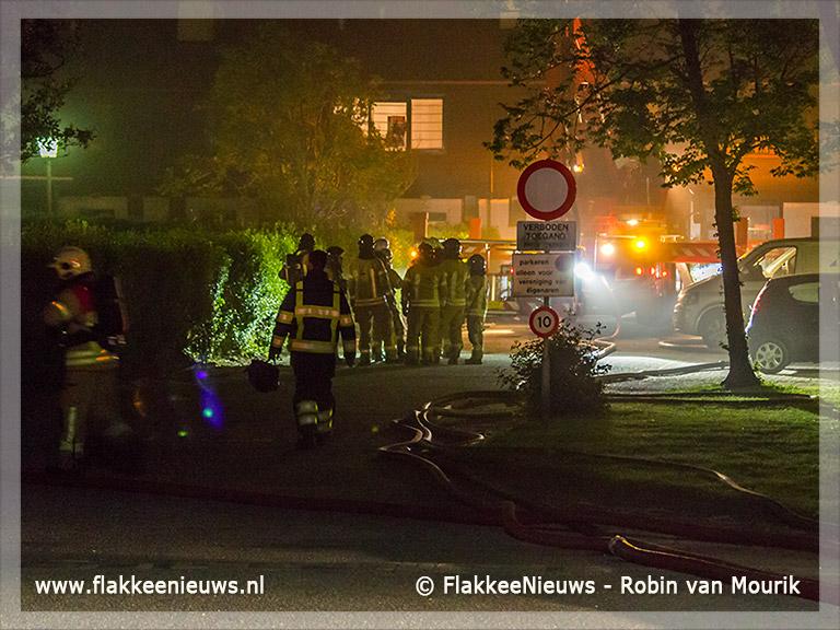 Foto behorende bij Grote brand bij Koningspleisterplaats Goedereede