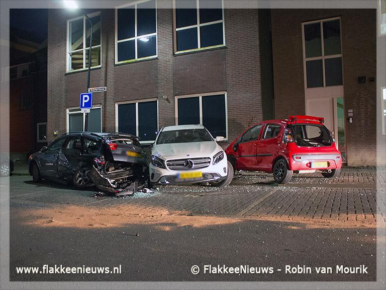 Foto behorende bij Ravage door ongeval in Middelharnis